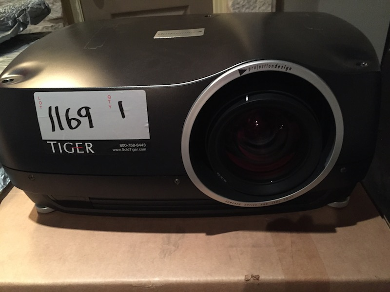 Photograph of a Digital Projection HD 5000 Lumen Projector