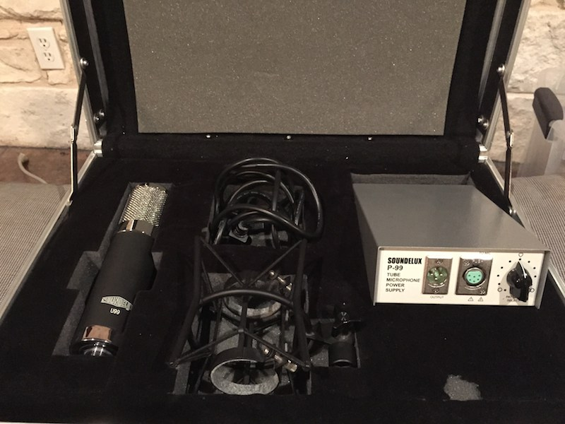 Photograph of Soundelux u99 Tube microphone