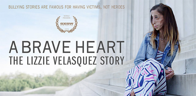 Photo of Lizzie Velasquez for A Brave Heart: The Lizzie Velasquez story film