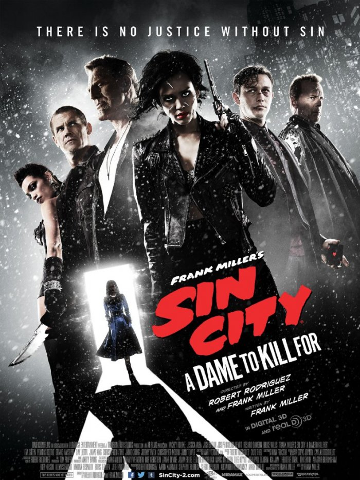 Sin City: A Dame to Kill For, Sound Supervisor and Re-Recording Mixer